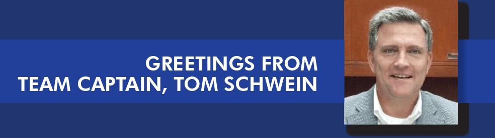 Tom Schwein - Samaritan Cycling Captain
