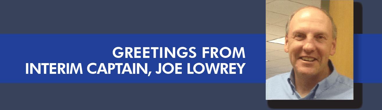 Joe Lowrey - Samaritan Walking Interim Captain